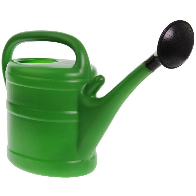 Gieter groen 10 liter - Groen behang van het water ...