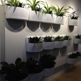 Woolly Pocket Living Wall planter, zwart